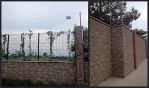 resort fence