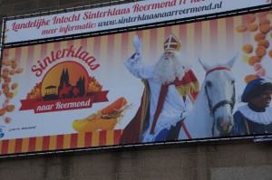 sinterklaas billboard