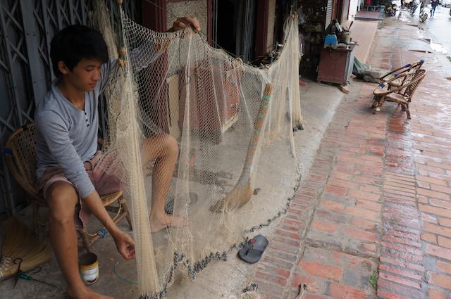 Laos fish net
