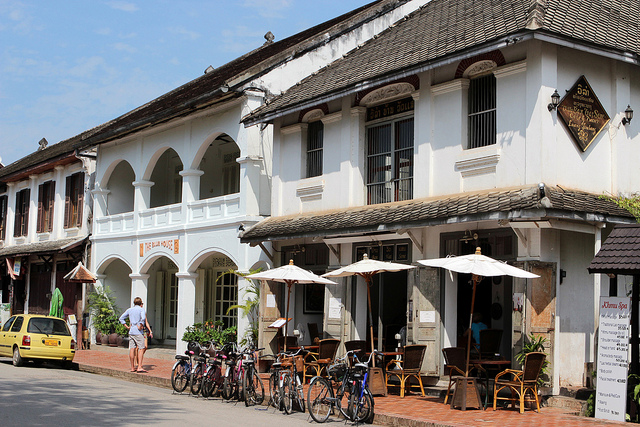 French cafe culture thriving in Luang Prabang Photo credit: Anywhere But Home
