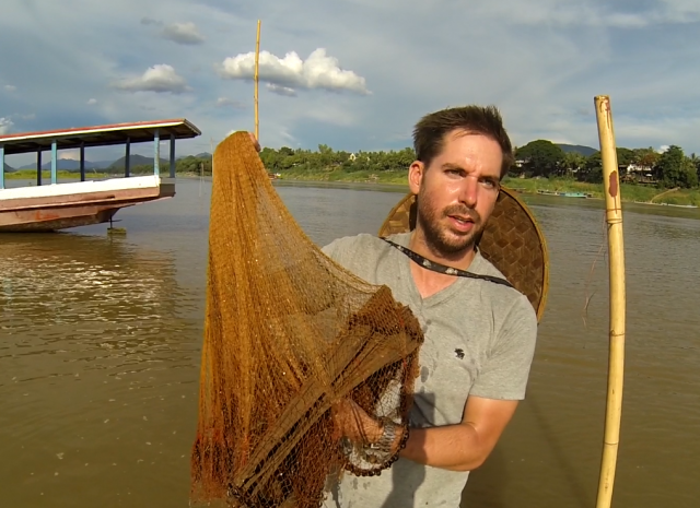 catching bamboo