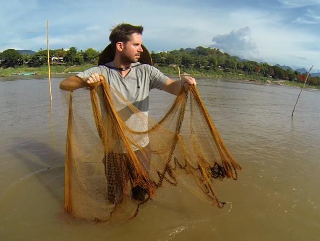 lao fisherman