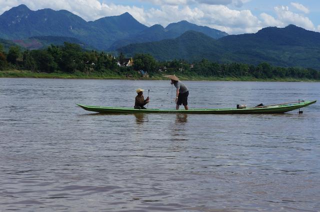 laos fisherman