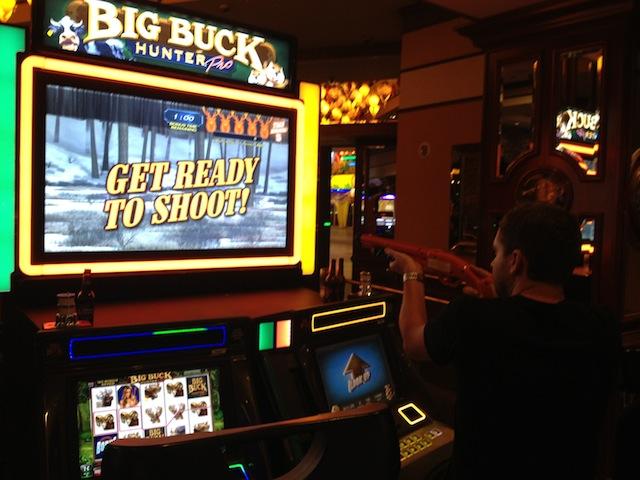 Combing gambling and shooting...genuis