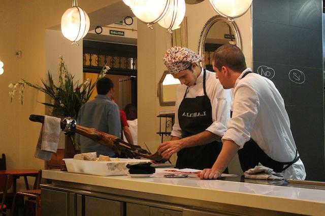 restaurant jobs in spain