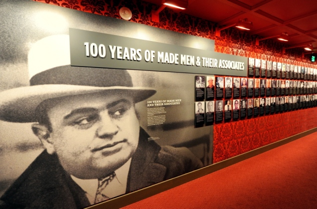You can get a little bit of history in the mob musuem