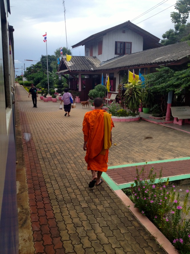 Hang out with monks out of their workplace