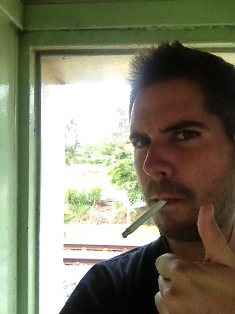 And then put those years back on by chain smoking in the caboose