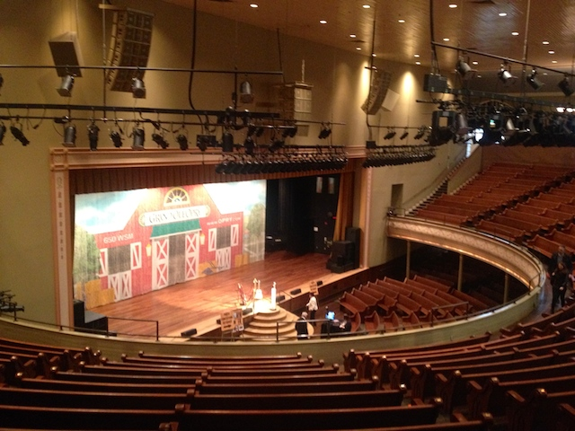 The Grand Old Opry. Many Legends are born here.