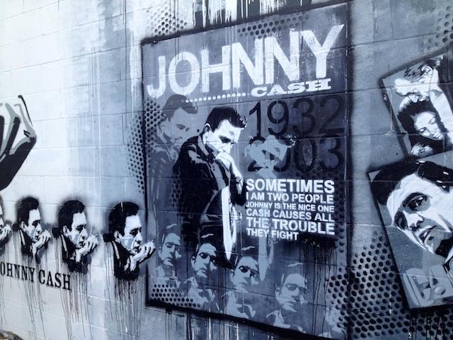 Nashville Johnny cash mural