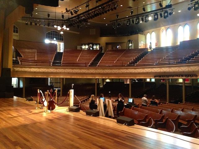 Ryman in Nashville