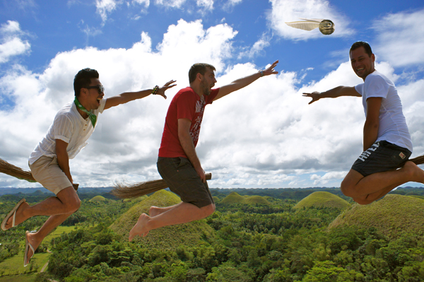 3rd World Quidditch @ Chocolate Hills, Bohol