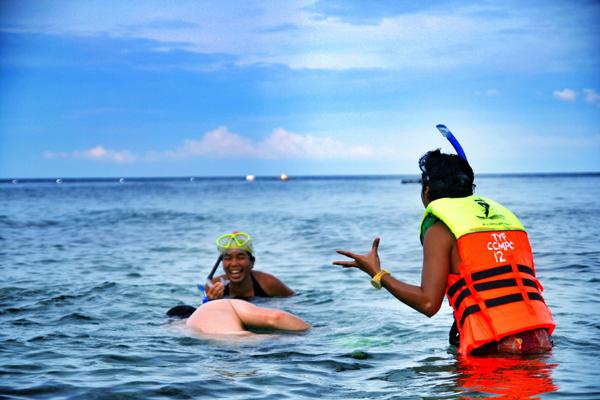 Snorkeling in Camiguin