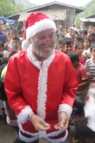 santa in the philippines