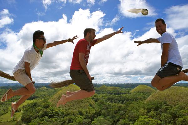 3rd World Quidditch @ Chocolate Hills, Bohol