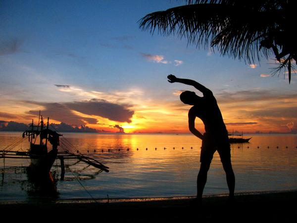 Mornings at Bulabog Beach