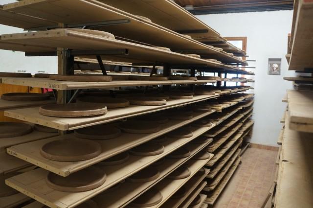 piadina pan drying rack
