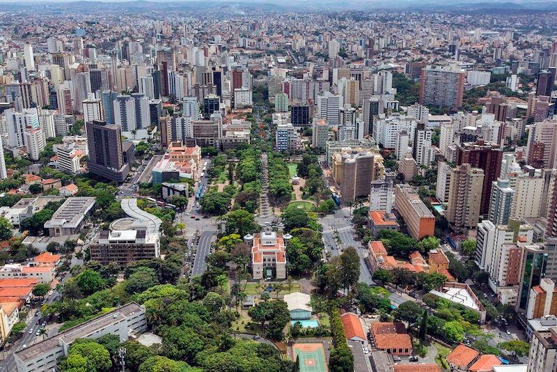 Belo Horizonte Brazil Skyline