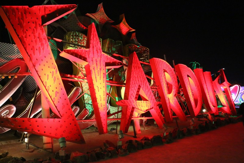 Neon Park - where old Las Vegas signs find retirement