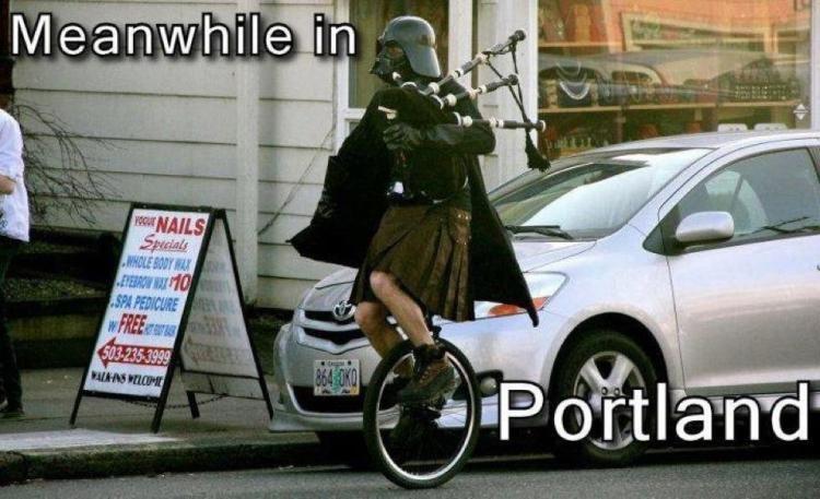 portland is weird