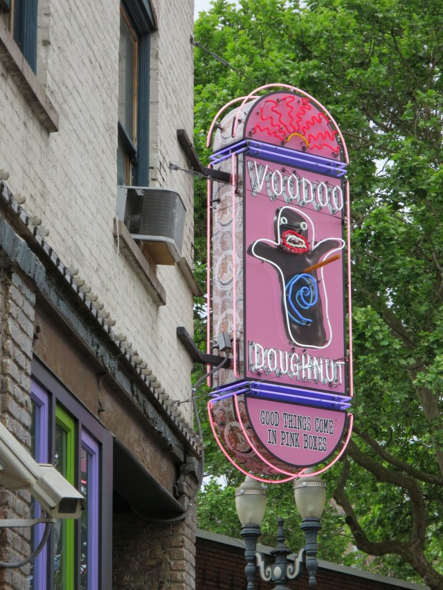 The famous Voodoo Donuts