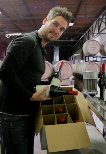 Wine Bottling in California