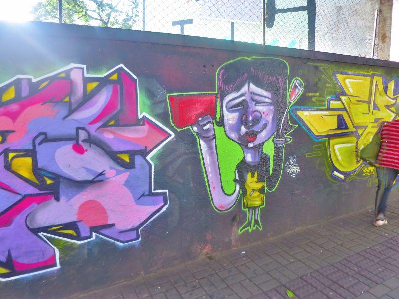 street graffiti in brazil 2