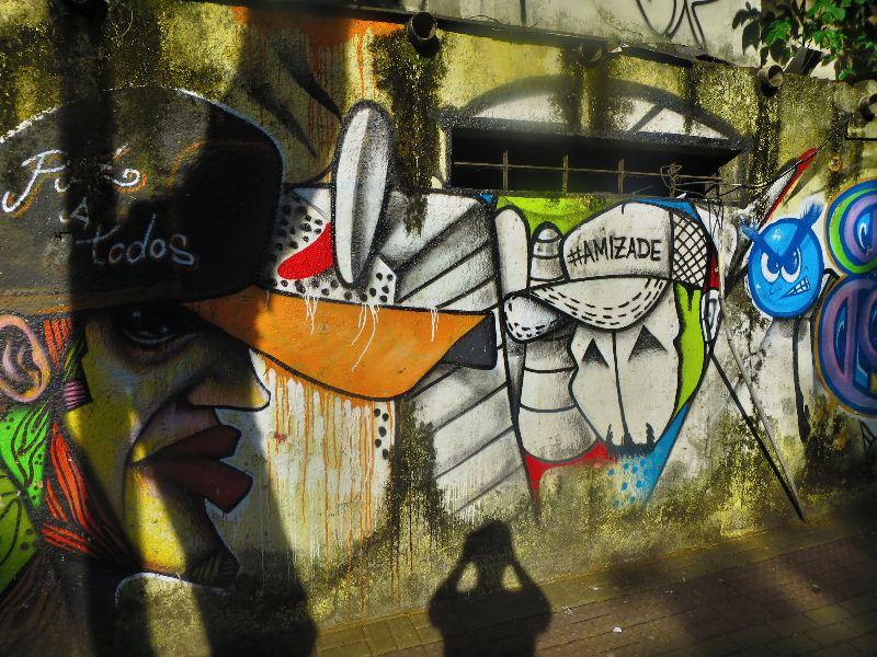 street mural in brazil