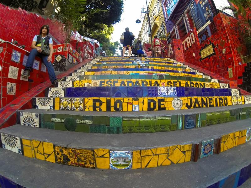 Rio's famous Escadaria Steps