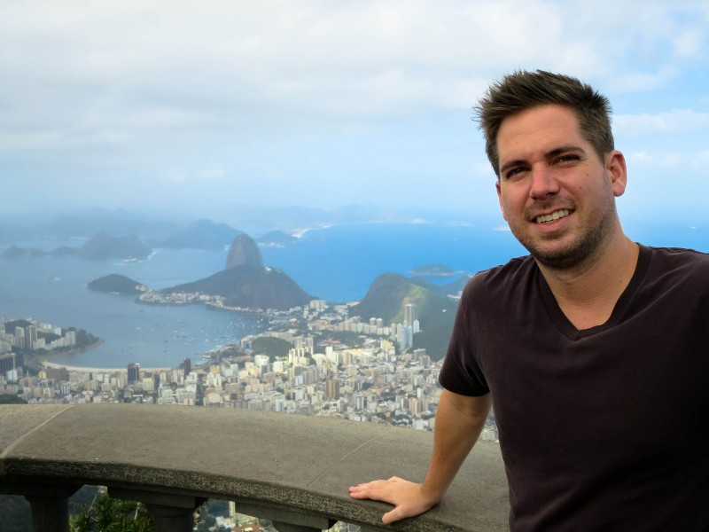 Another view from Christ the Redeemer