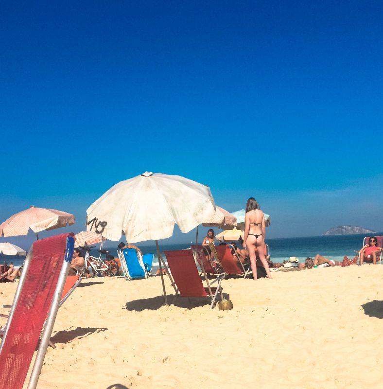 Brazilian beach standard