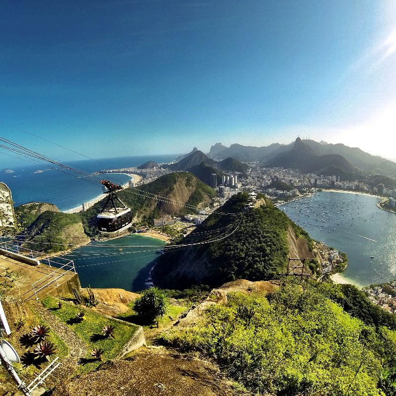 Rio with a Go Pro view. In love.