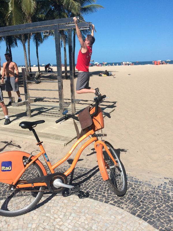 working out in rio