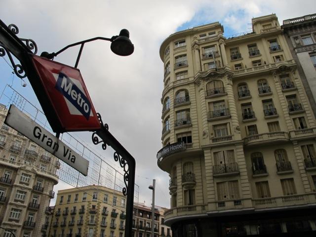 Barcelona downtown