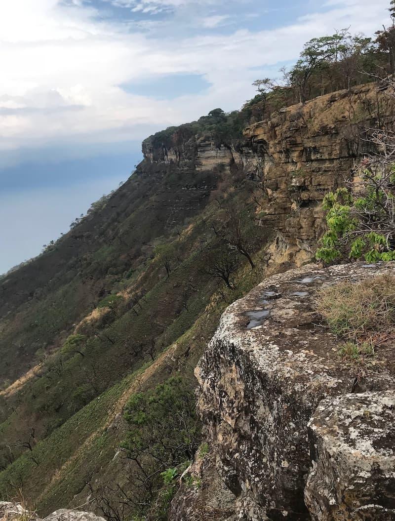 hiking in livingstonia malawi