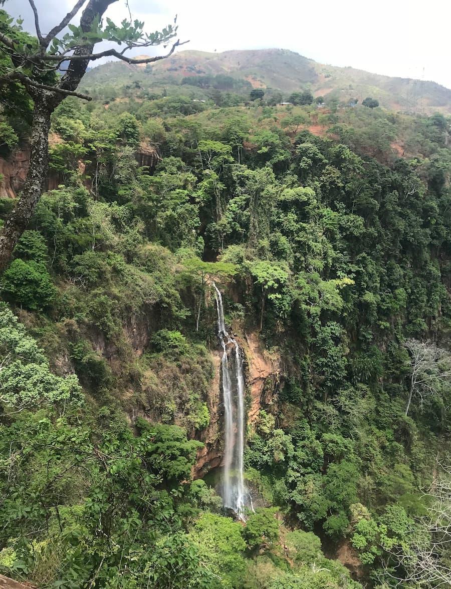water fall hike malawi